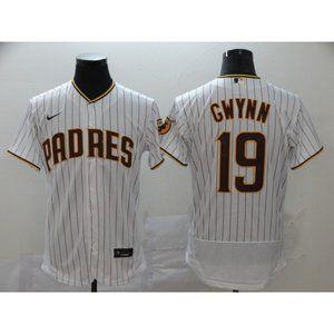 San Diego Padres Tony Gwynn White Elite Jersey